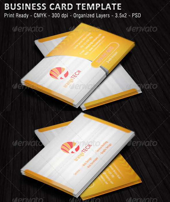GraphicRiver Corporate Business Card 4892619