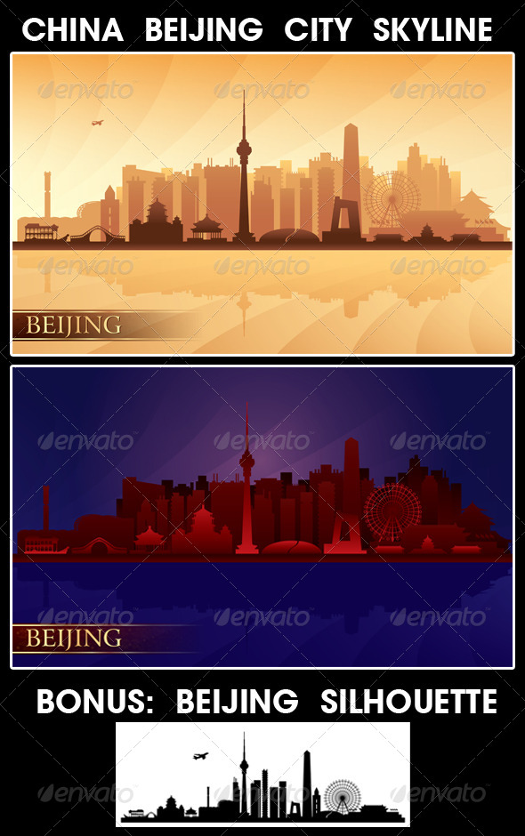 Beijing City Skyline