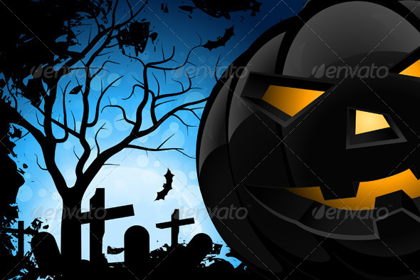 GraphicRiver Halloween Night 4977601
