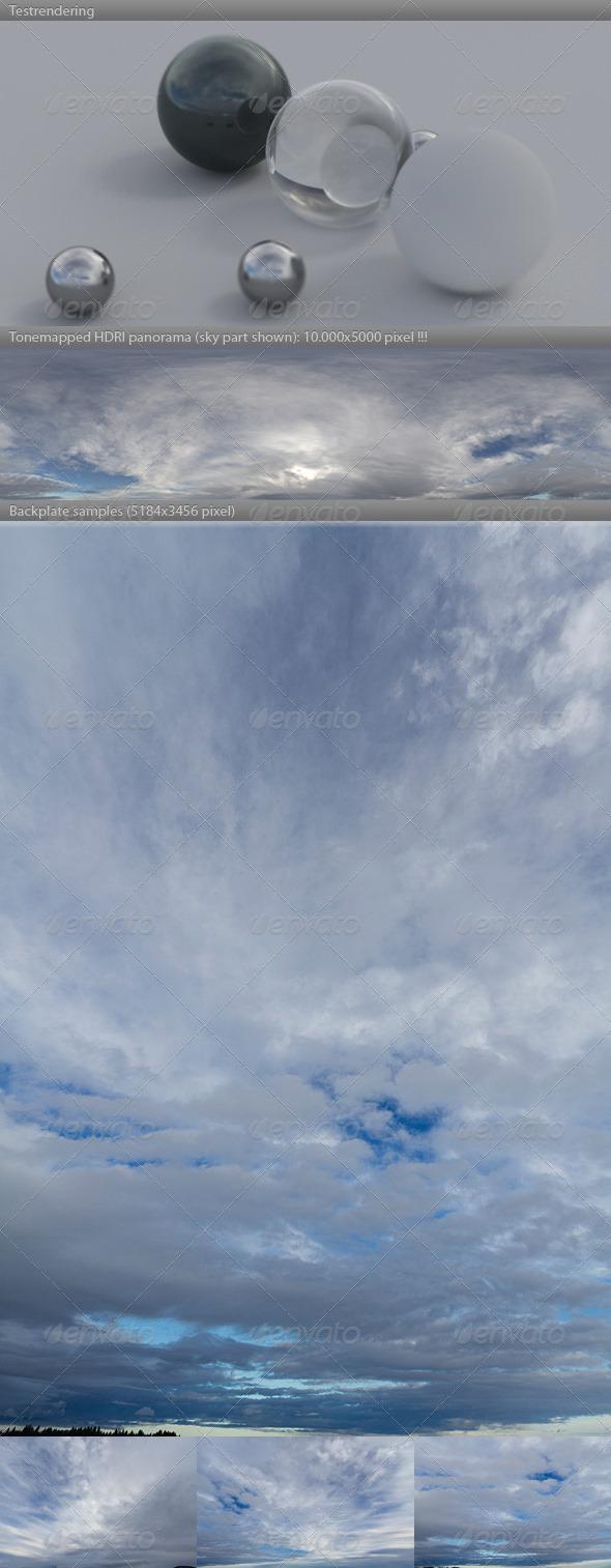 HDRI spherical sky panorama -1024- storm clouds - 3DOcean Item for Sale