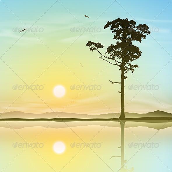 GraphicRiver Lone Tree 4977742