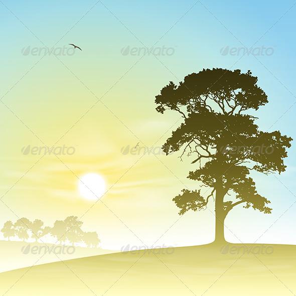 GraphicRiver Meadow Landscape 4977750