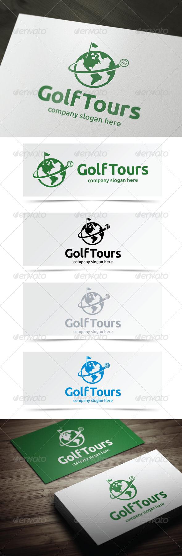 GraphicRiver Golf Tours 4978086