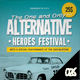 Alternative Festival Poster / Flyer - GraphicRiver Item for Sale