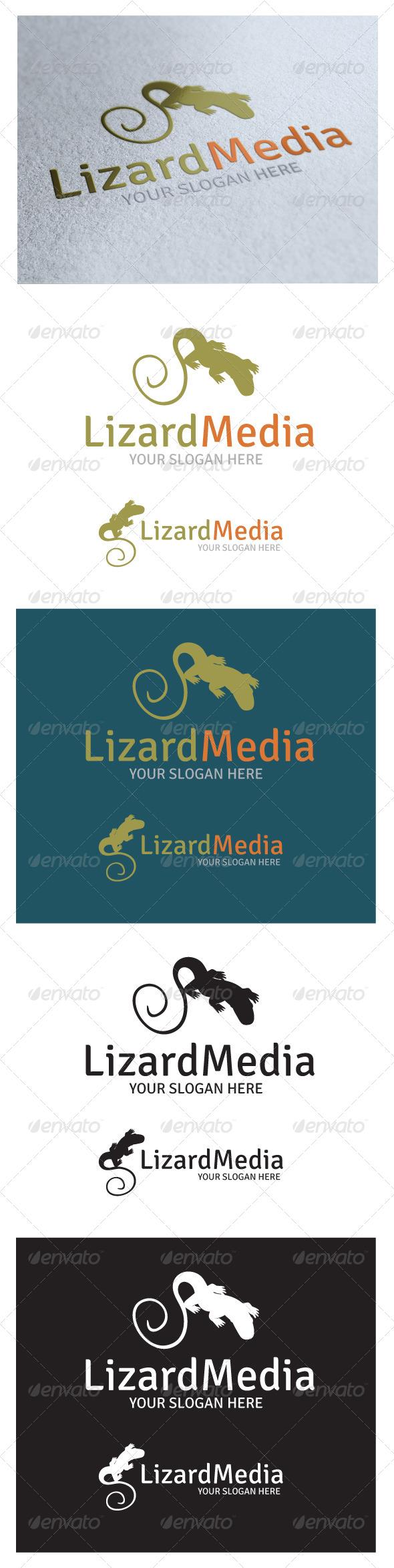 GraphicRiver Lizard Media Logo 4978222
