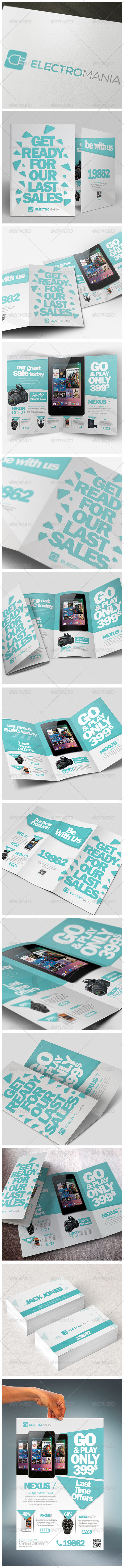 GraphicRiver Brochures Pack A4 & Trifold & Flyer & Card 4978322