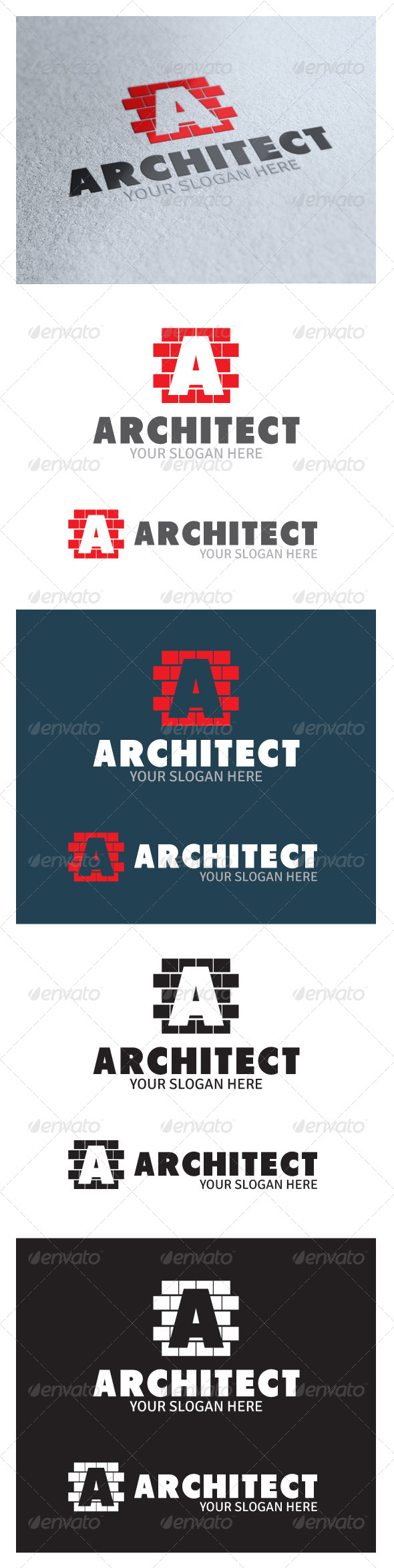 GraphicRiver Architect Logo 4978323