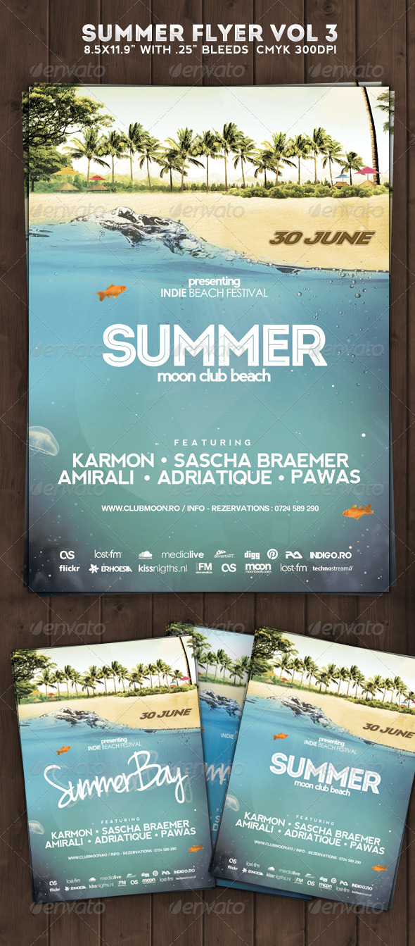 Summer Flyer Poster Vol 3 - Clubs & Parties Events