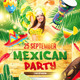 Mexican Party Template - GraphicRiver Item for Sale