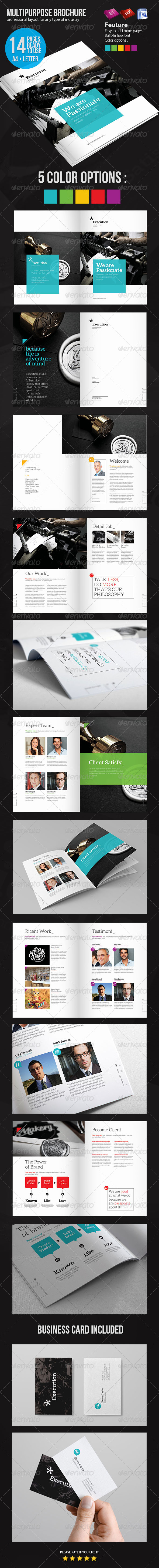 GraphicRiver Business Brochure 4980239