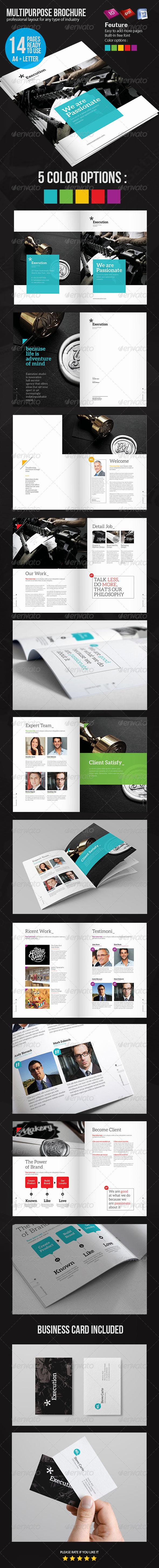 GraphicRiver Business Brochure 4980239