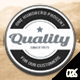 Black & White Retro Web Badges - GraphicRiver Item for Sale