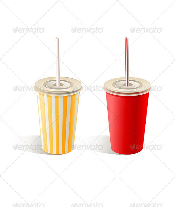 GraphicRiver Fast Food Paper Cups 4980844