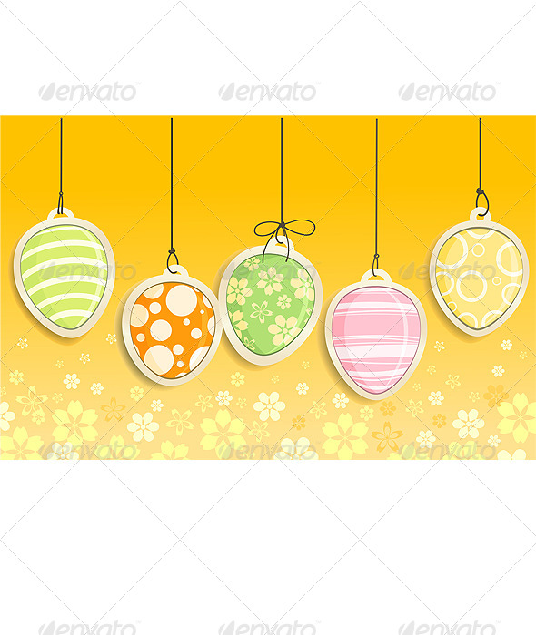 GraphicRiver Decorative Easter Eggs 4981024