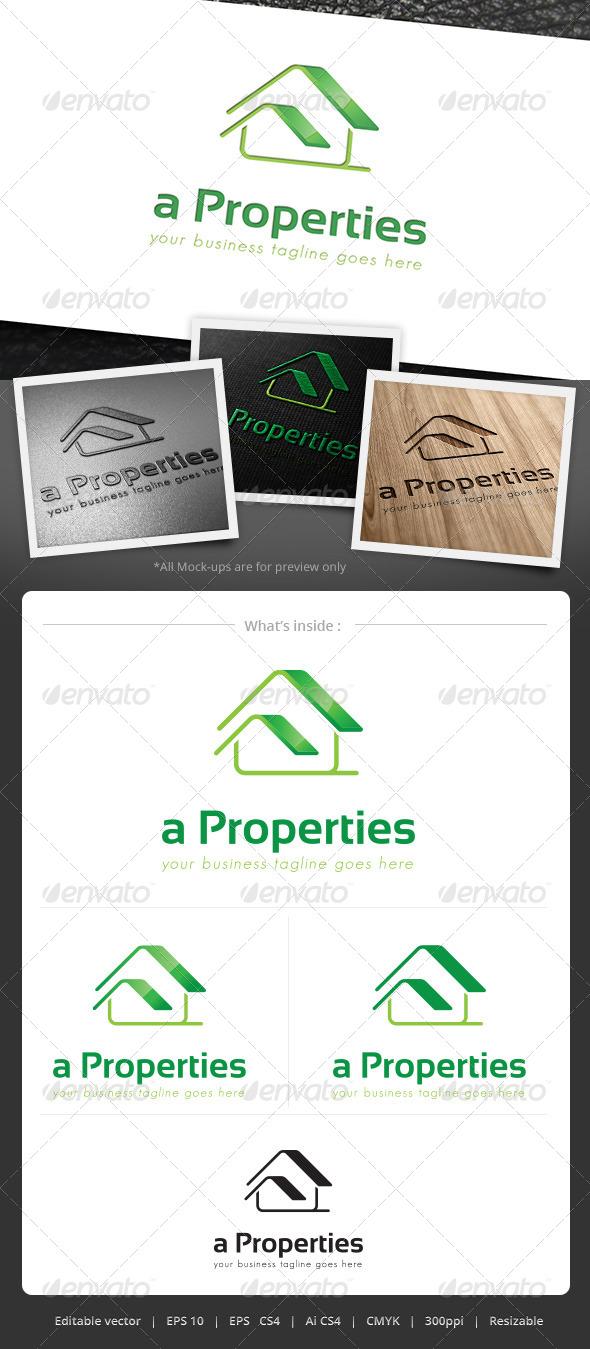 GraphicRiver a Properties Logo 4981044