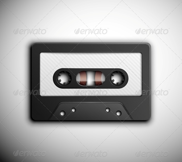 GraphicRiver Audio tape 4981387
