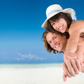Couple on tropical beach - PhotoDune Item for Sale