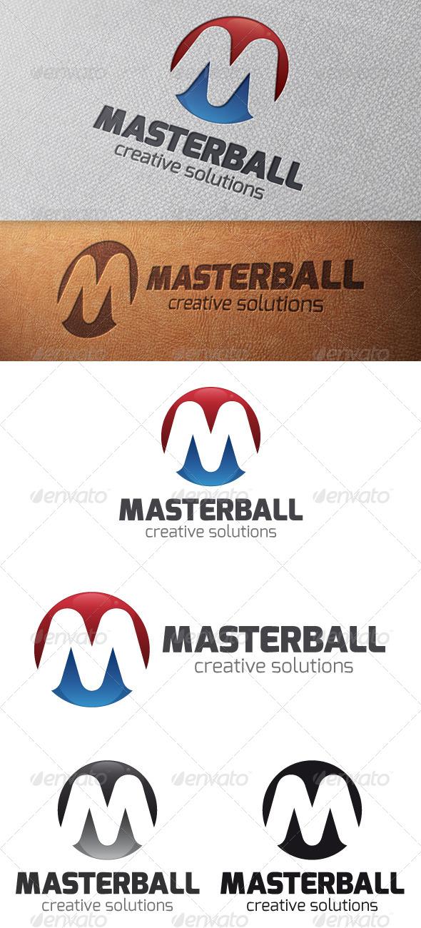 GraphicRiver Master Letter M Logo Template 4981824