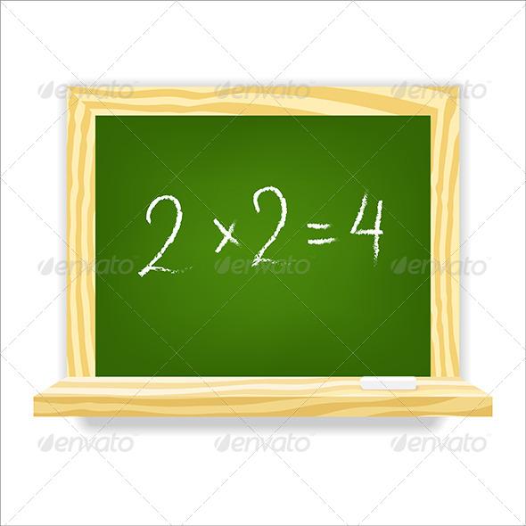GraphicRiver Class Chalkboard 4981980