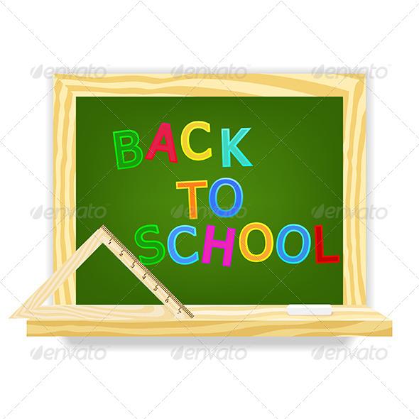GraphicRiver Class Chalkboard 4981989
