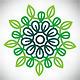 Ecological flower logo - GraphicRiver Item for Sale