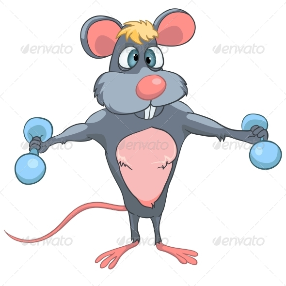 GraphicRiver Cartoon Character Mouse 4982957