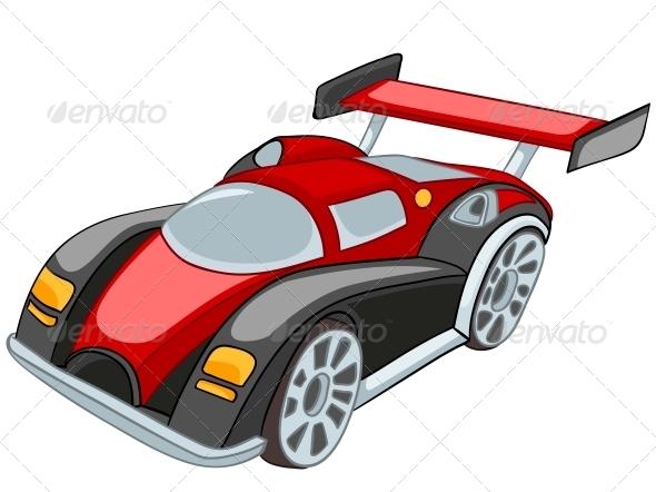 GraphicRiver Cartoon Car 4983049