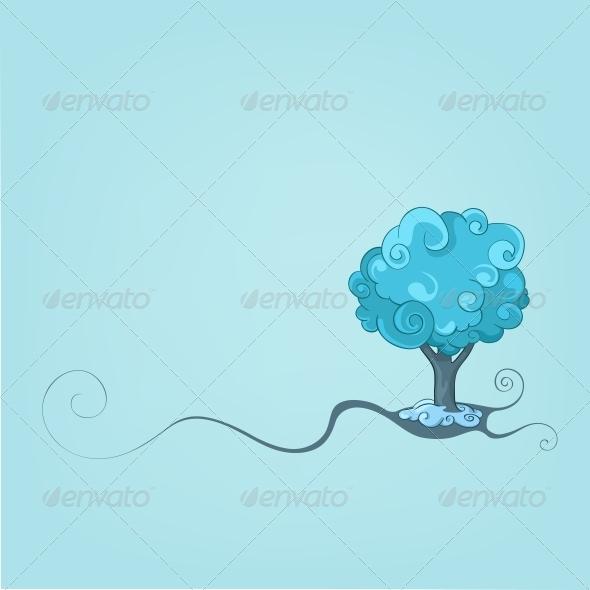 GraphicRiver Tree Design 4983111