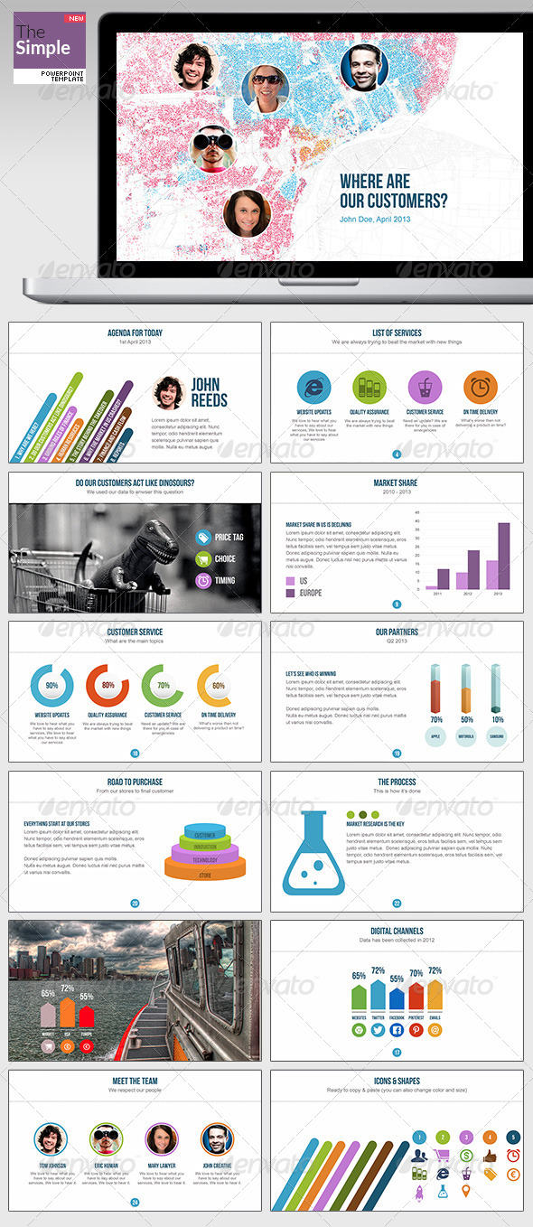 GraphicRiver TheSimple Powerpoint Template 4983113