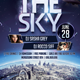 Over The Sky Flyer Template