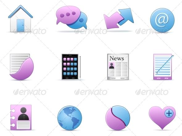 GraphicRiver Icon Set 4983289
