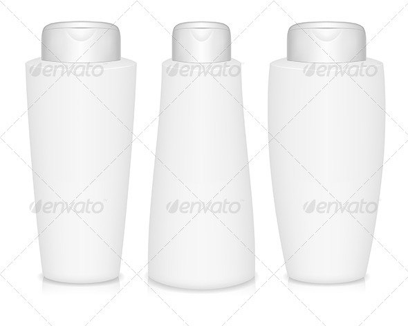 GraphicRiver Shampoo Bottles 4923434