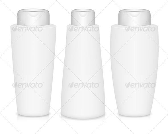 shampoo bottles health medicine conceptual