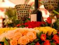 flowers and a wine glass - PhotoDune Item for Sale