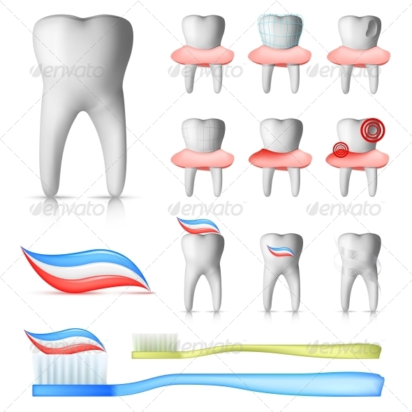 GraphicRiver Dental Set 4983424