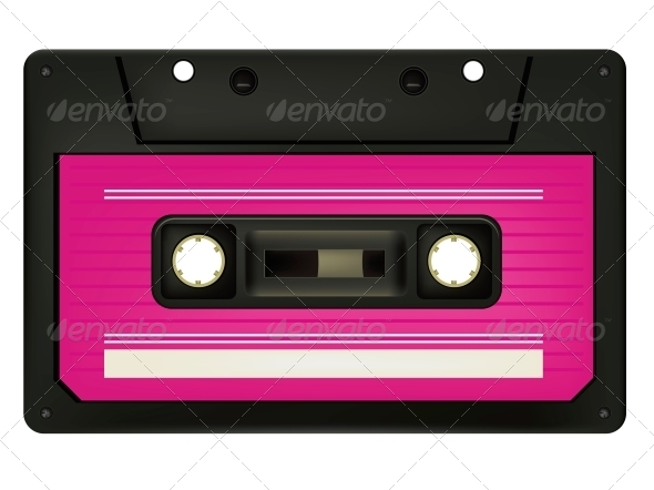 GraphicRiver Audio Cassette 4983426