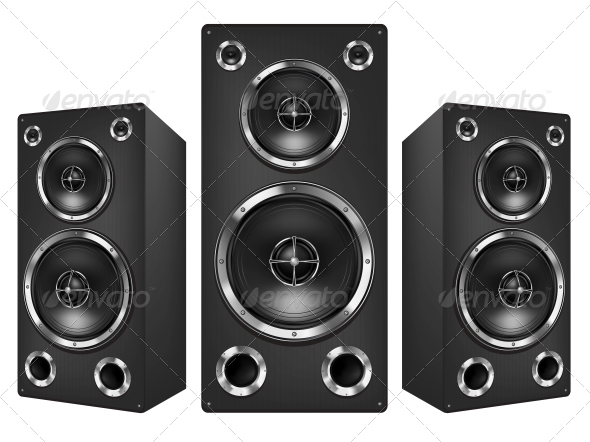 GraphicRiver Acoustic Loudspeaker 4983658