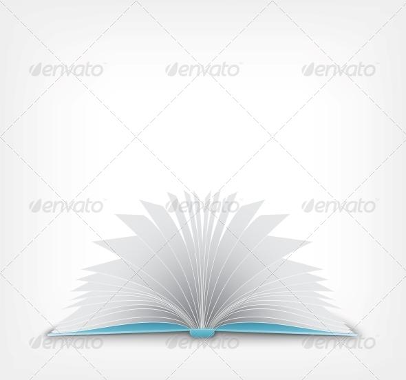 GraphicRiver Open Book 4983666