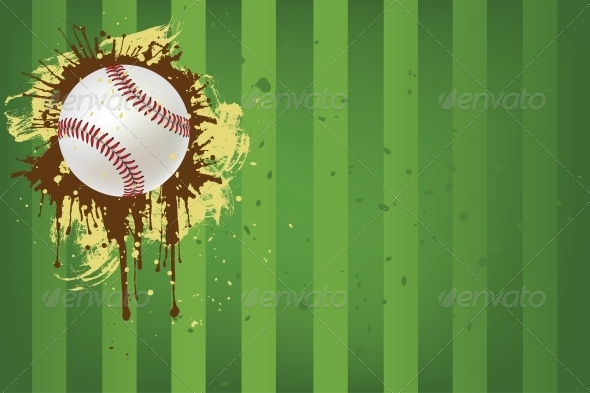 GraphicRiver Baseball Ball 4983731