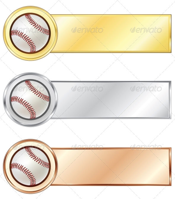 GraphicRiver Baseball Medals 4983734