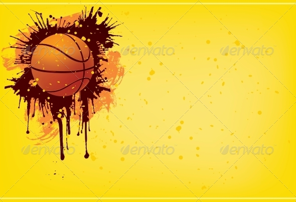 GraphicRiver Basketball Ball 4983740
