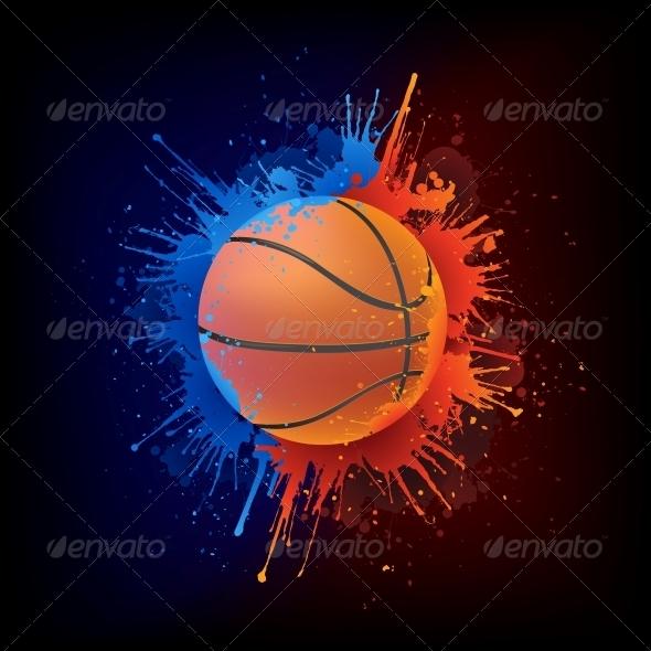 GraphicRiver Basketball Ball 4983742