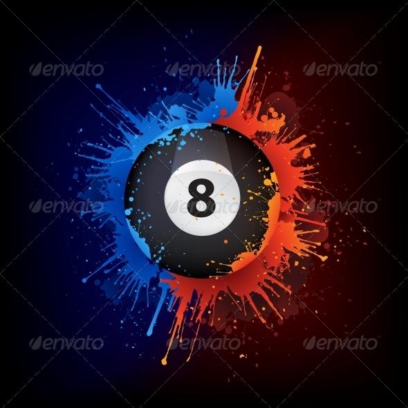 GraphicRiver Pool Billiards Ball 4983749