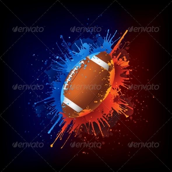 GraphicRiver Football Ball 4983794
