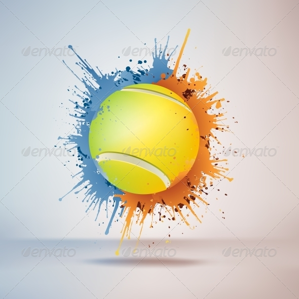 GraphicRiver Tennis Ball 4983892