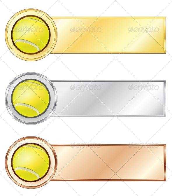 GraphicRiver Tennis Medals 4983893