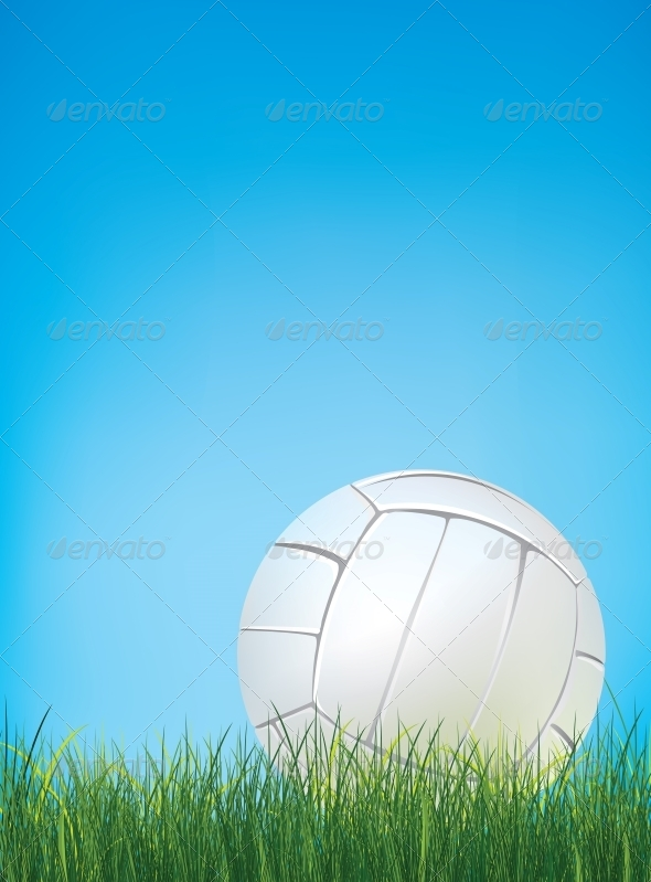 GraphicRiver Volleyball Ball 4983896