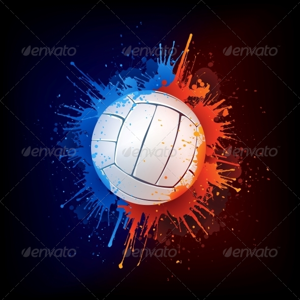 GraphicRiver Volleyball Ball 4983899