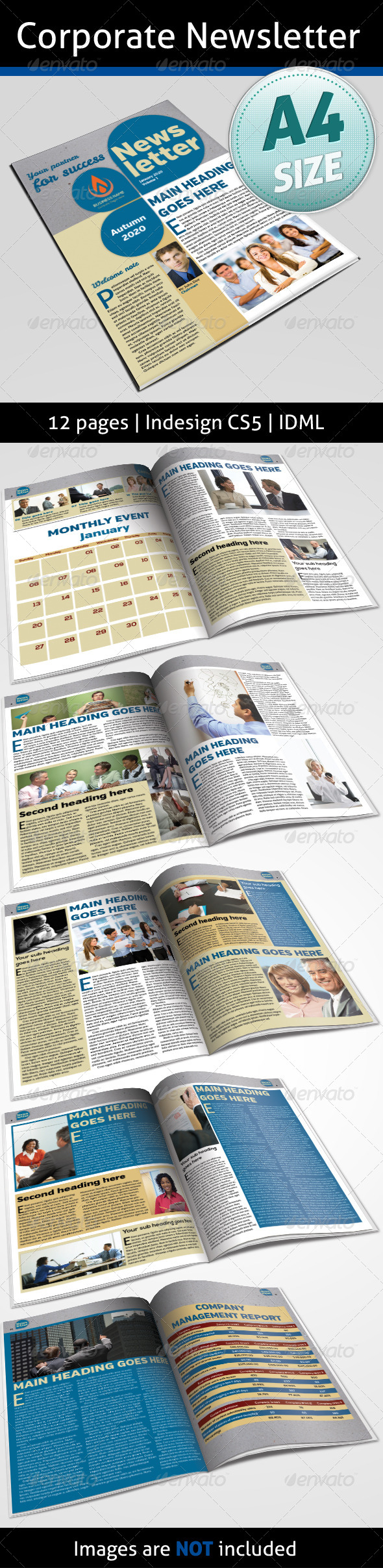 GraphicRiver Corporate Newsletter 4984281