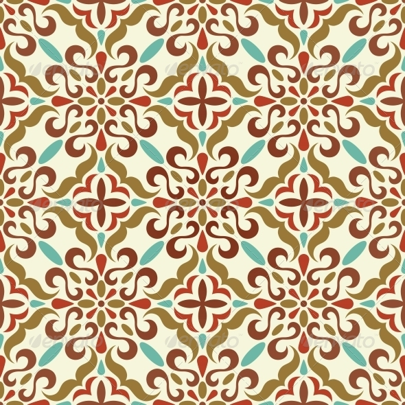 GraphicRiver Traditional Seamless Pattern 4984956